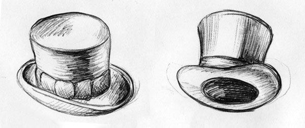 Zwei Zylinder eines Schornsteinfegers - Die Kulli-Zeichnung