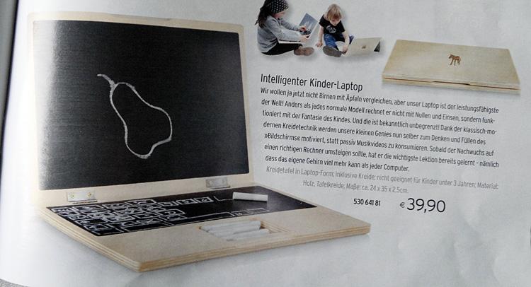 Laptop nicht nur für Kinder