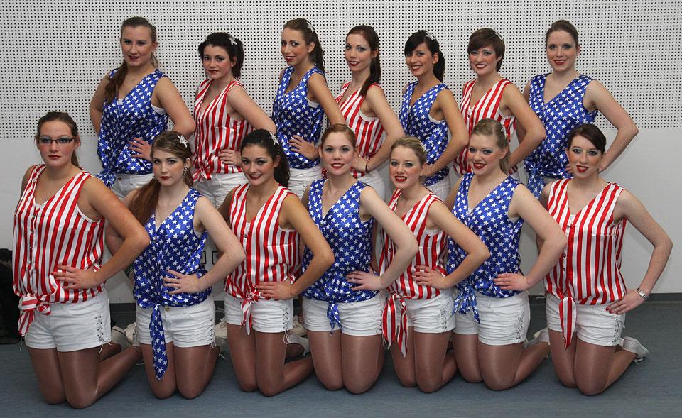 Stars and Stripes - Die Hoingdibbscher 2012