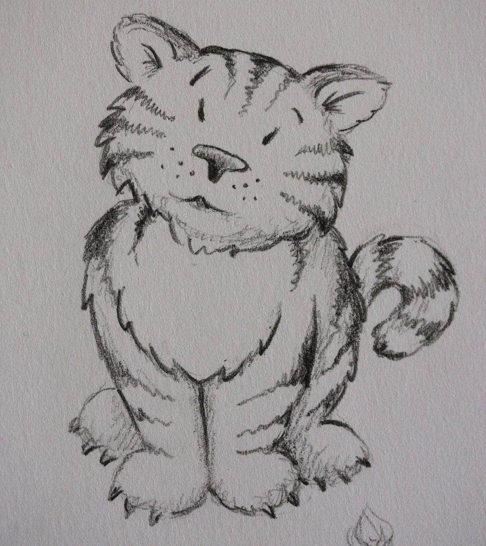 Echt süß - Der Tiger