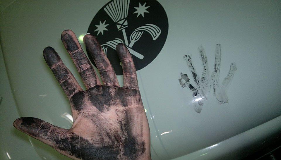 Die schwarze Hand!