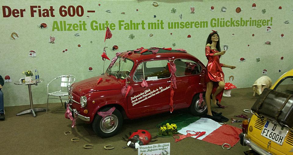 Der Fiat 600 - Allzeit gute Fahrt mit unserem Glücksbringer!