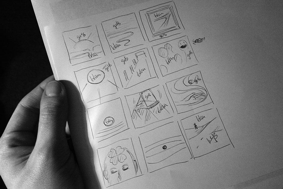 Musik malen - Skribble für die nächste Seite