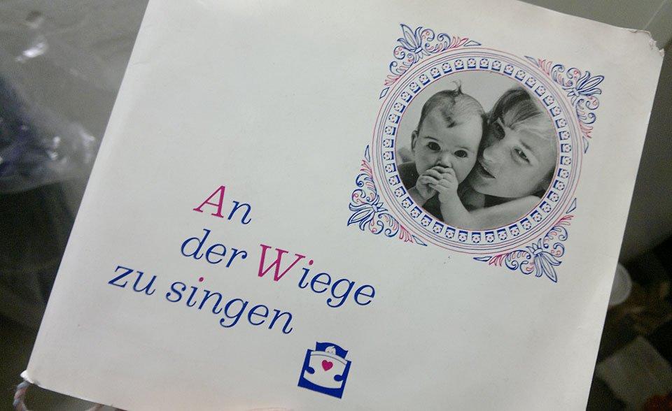 """Eine besondere Schallplatte: """"An der Wiege zu Singen"""" von Nivea babyfein"""