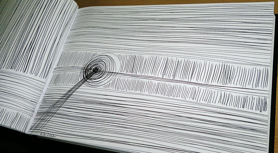 ...und Linien, Linien und Linien.