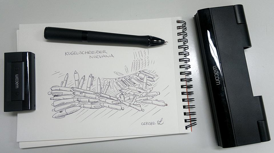 Jeder würde gern wissen wo es ist - Das Kugelschreiber-Nirvana