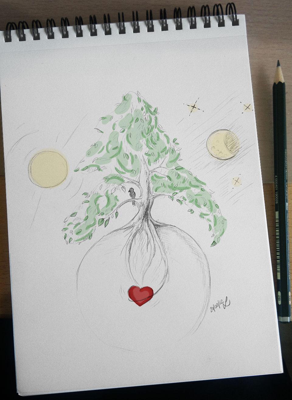 """""""Träumt von einem Baum, so groß wie ihr nie zuvor einen Baum gesehen habt."""""""