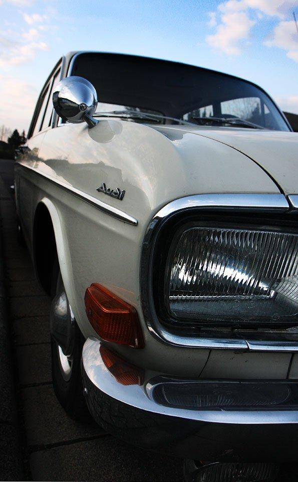 Ein Audi Baujahr 1972.