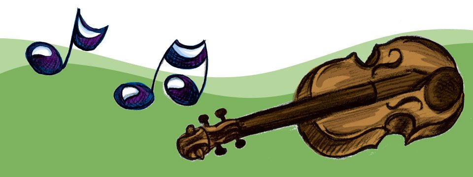 Es spielt die Violine!