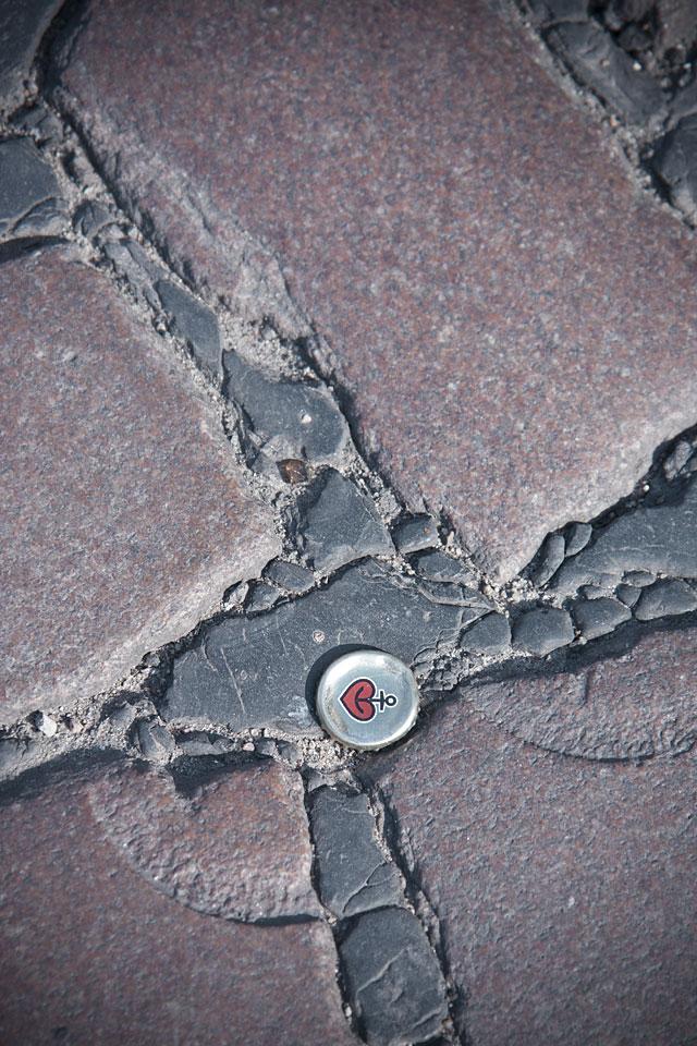 Überall zu finden wenn man auf den Boden guckt.