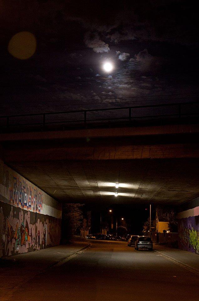 Das blaue fahle Mondlicht...