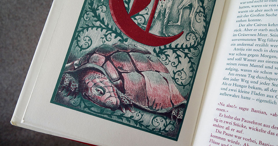 Die Ausgabe von 1979 illustriert von Roswitha Quadflieg.