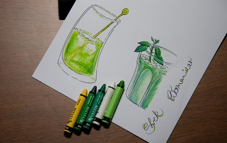 Grünes Due: Melonig und Minzig