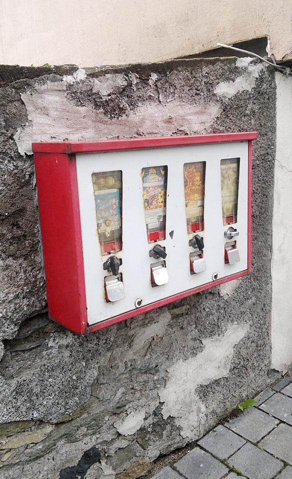 Dieser Automat hängt in Weilburg...