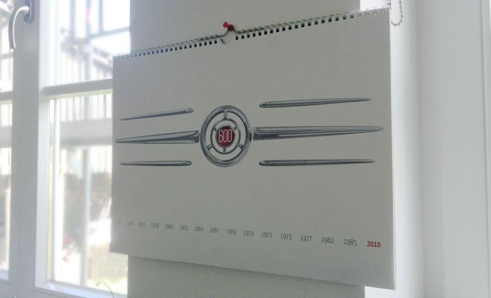 Der Kalender von 2010...