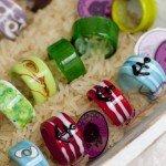 Schmuckhandwerk: Ringe aus Glas –ob diese hier der Knitterfee gefallen würden?