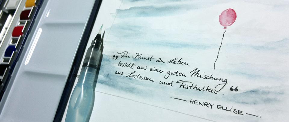 """""""Loslassen und Festhalten""""."""