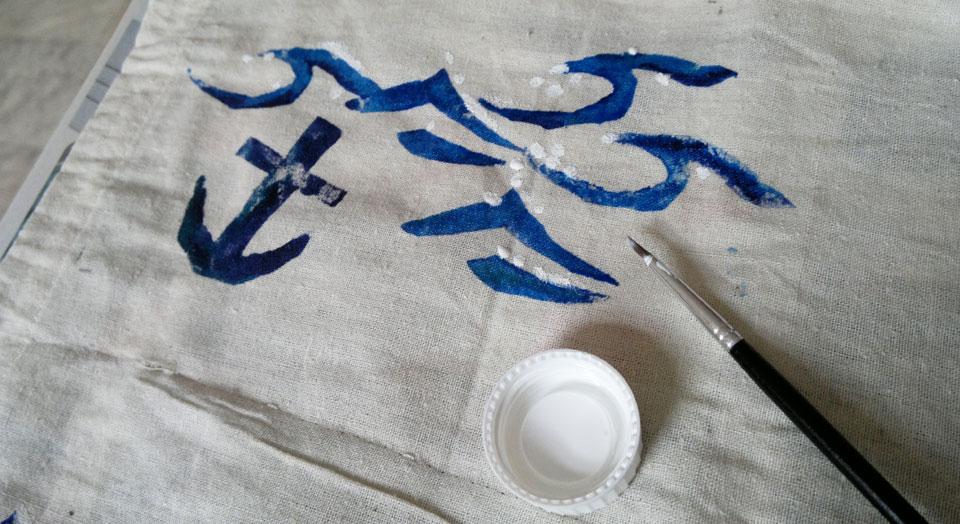 Ahoi – Finish mit ein paar weißen Farbtupfen.