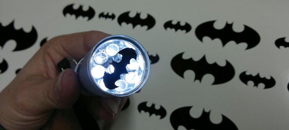 Eine Freude: Ein ganz eigenes Batlight gebastelt und verschickt!