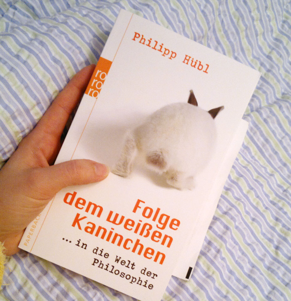 """Neue Bettlektüre """"Folge dem weißen Kaninchen…"""""""