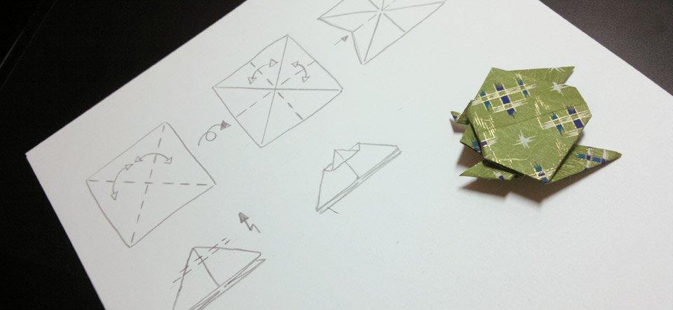 Mein Testobjekt ist fertig, nun die Anleitung dazu zeichnen.