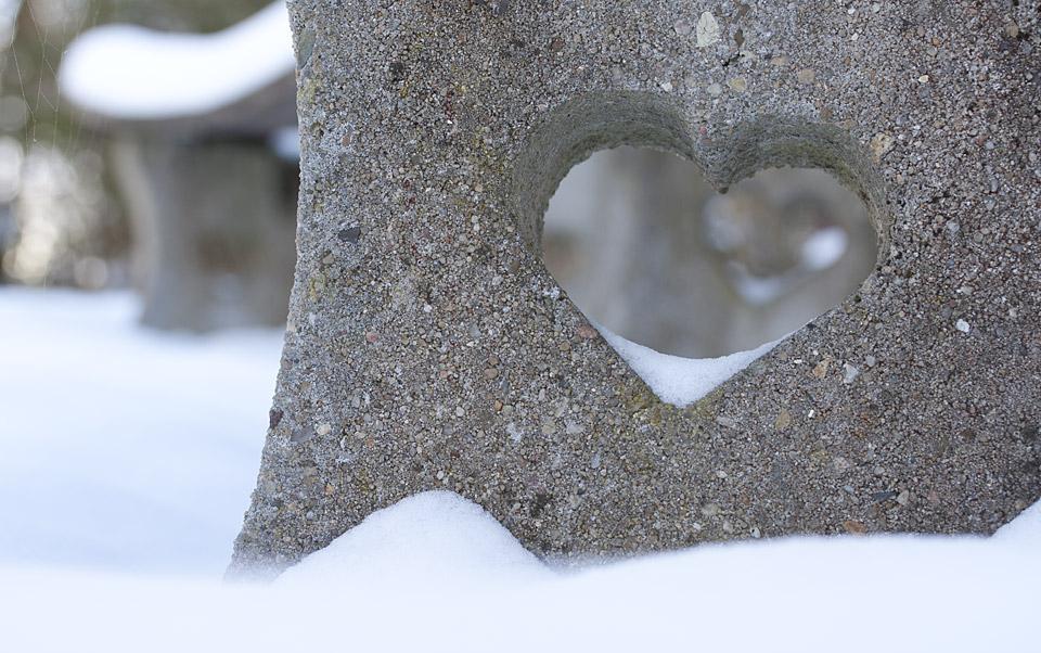 Mit Herz: Die Bank für Verliebte.