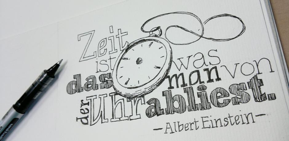 Ein Zitat von Albert Einstein…