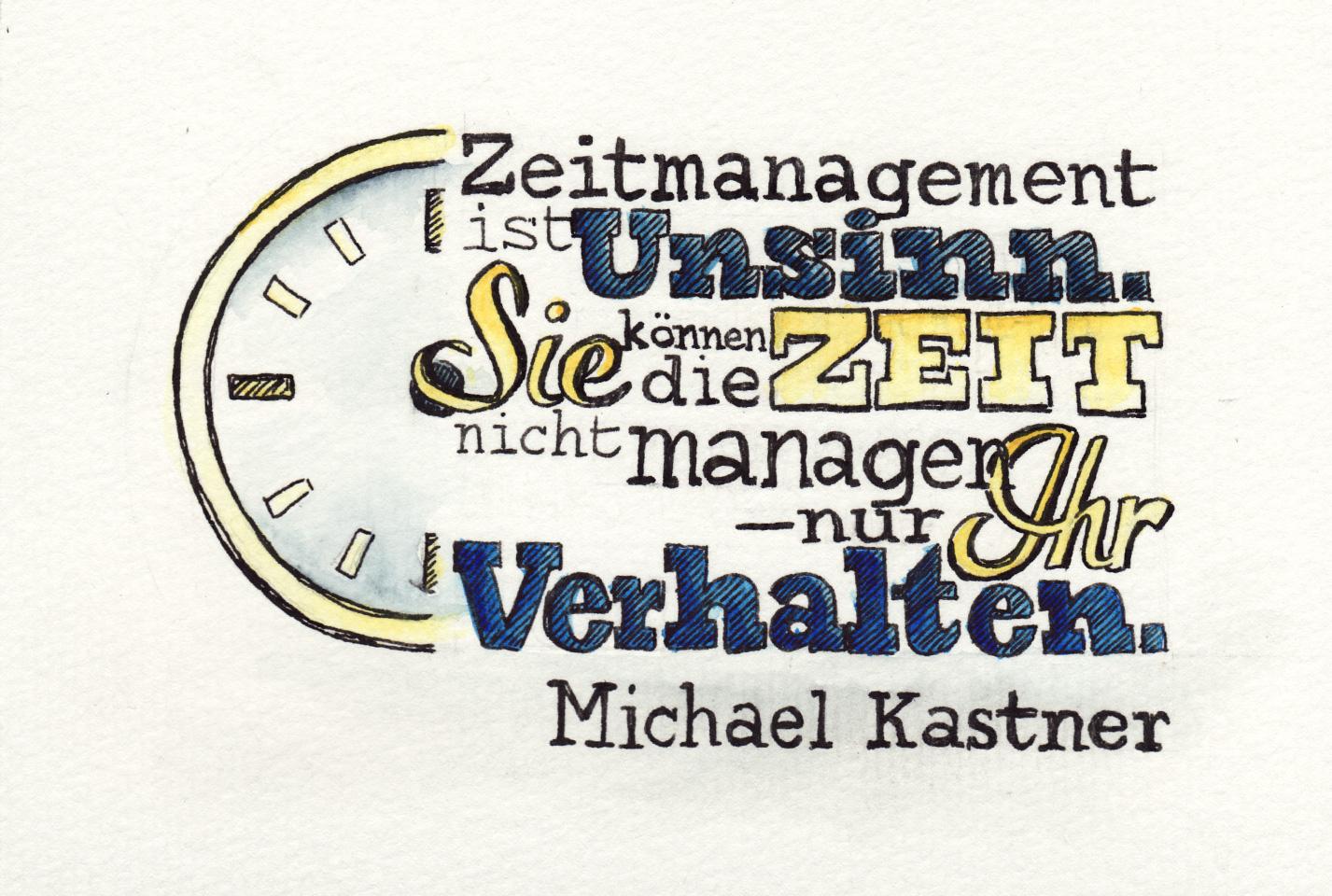 Das Zitat von Michael Kastner.