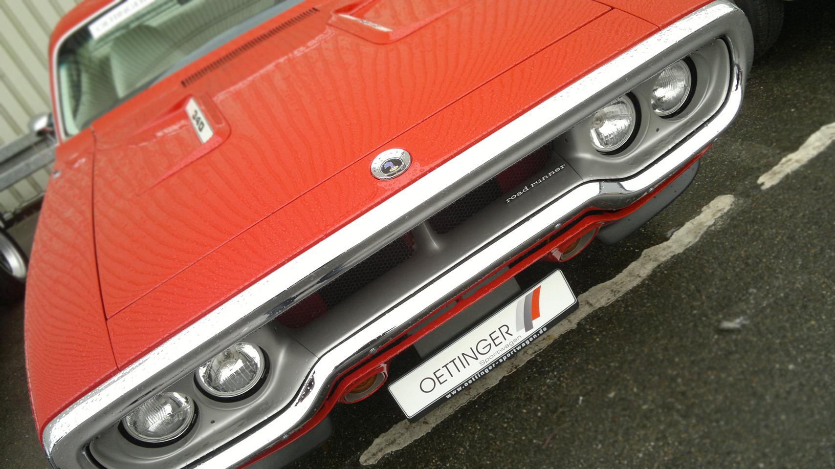 Plymouth Road Runner 340 – was für eine Nase.