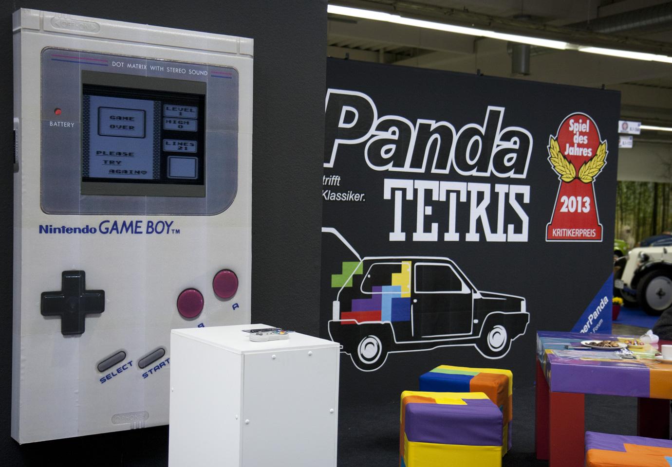 Back to the 80s – Panda Tetris