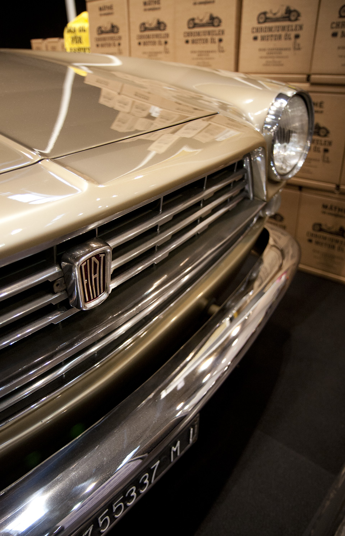 Ein besonderes Juwel: Fiat 2300 S - Ghia Coupe 1. Serie