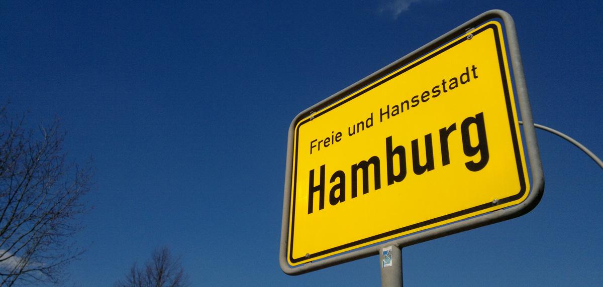 Hamburg – angekommen in der Hansestadt.