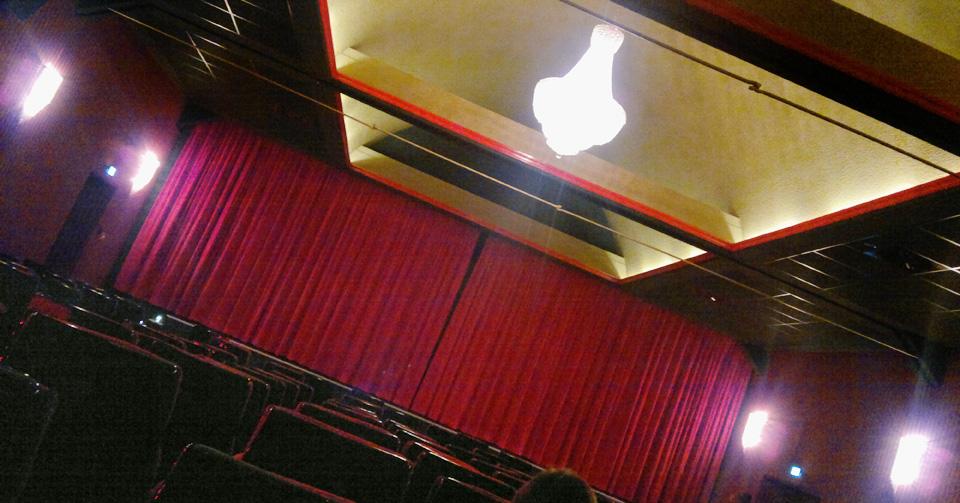 Altes Kino neu. Saalbaulichtspieltheater Kino Weilmünster.