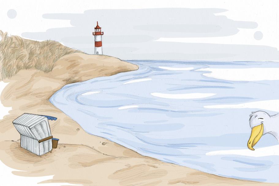 """Am Strand"" oder auch ""Hu?"""
