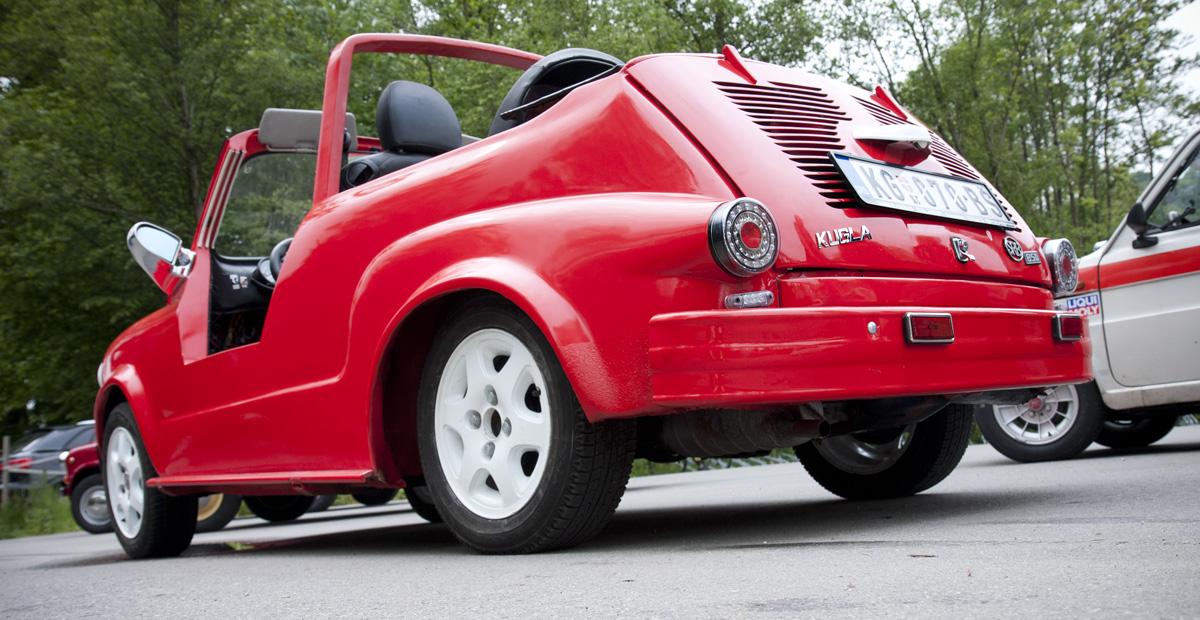 """Etwas Kurioses für die Fiat 600 Freunde: Zastava """"Kugla"""""""