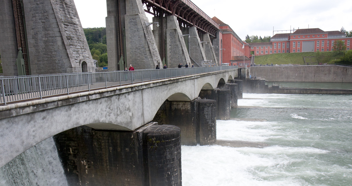Blick von Deutschland in die Schweiz.
