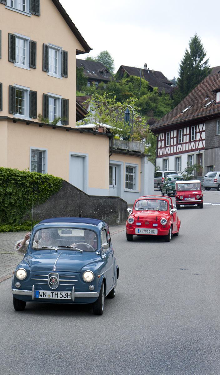 Weiter geht es durch die schöne Schweiz zwischen Zürich und dem Rhein.