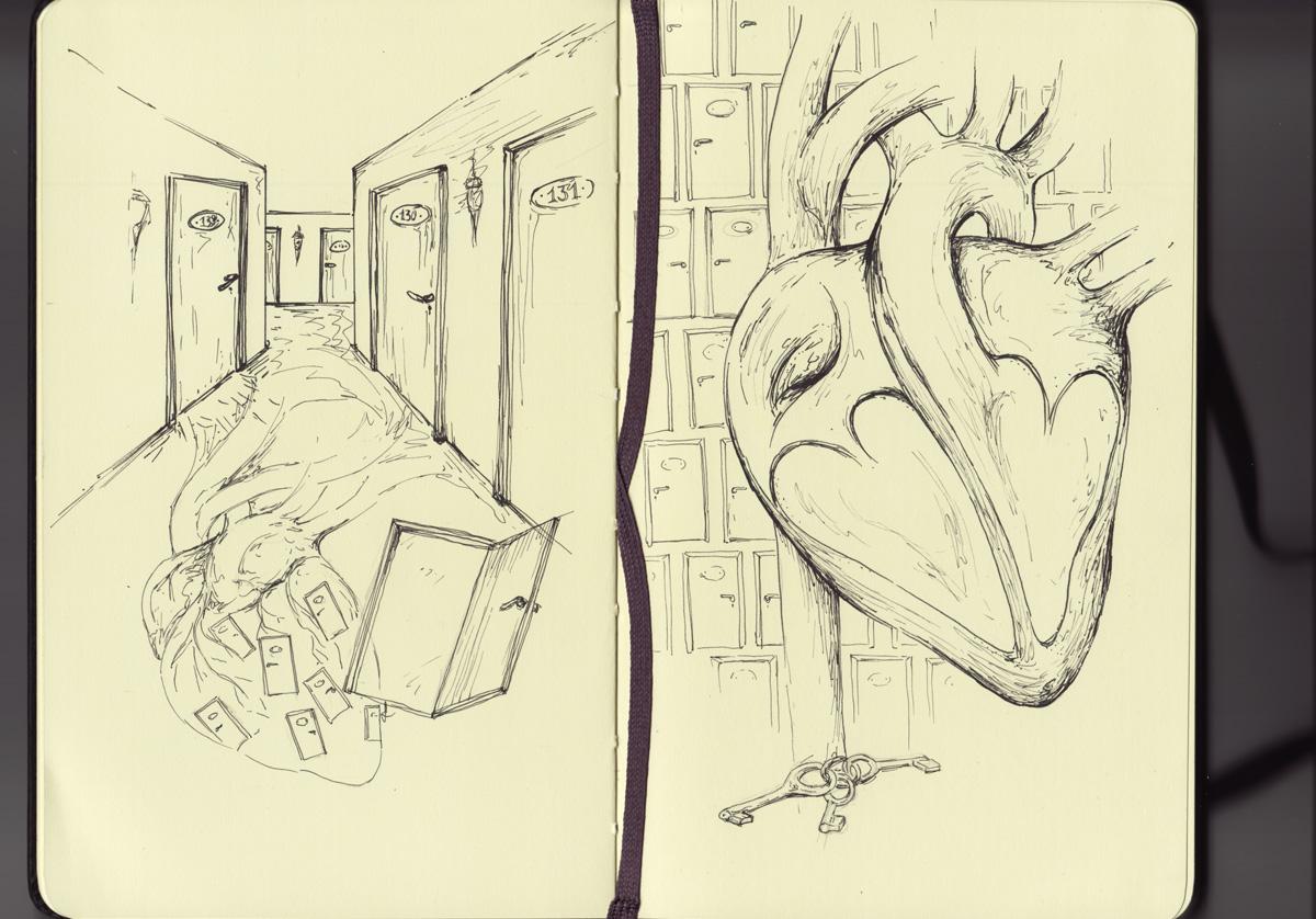 Viele Türen in unzähligen Fluren…