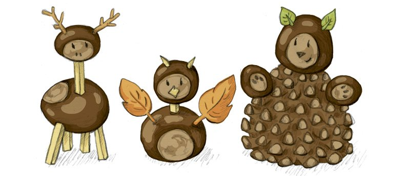 Erkennt Ihr diese drei Tiere und was für Figuren fallen Euch ein?