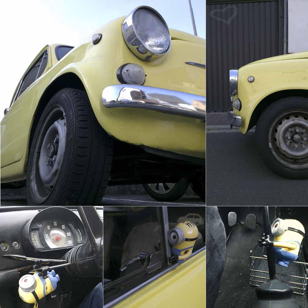 Gelber Sonnenschein: Fiat / Seat 600