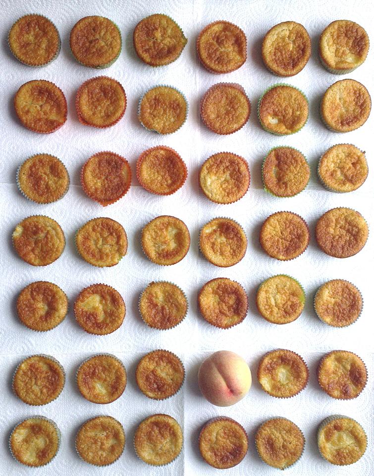 Muffin Mania – Die Pfirsischmuffins waren ganz schnell weg.