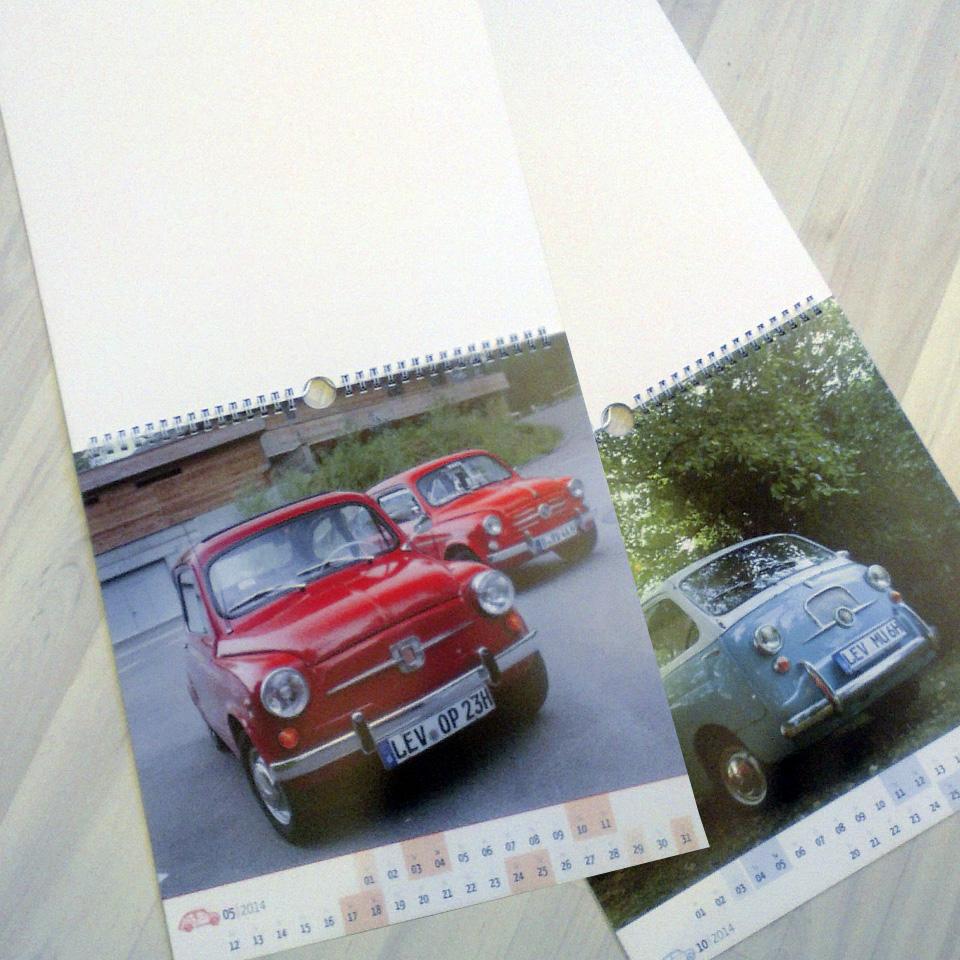 Der Fotokalender für die Fiat 600 Freunde.