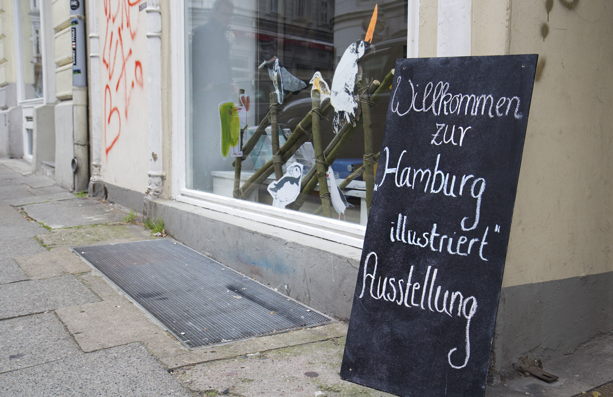 """Herzlich Willkommen zu """"Hamburg illustriert"""" im Kulturreich Hamburg."""