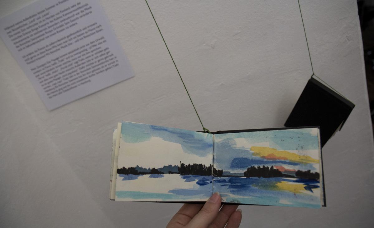 Reiseskizzen aus Skandinavien von Miriam Elze.