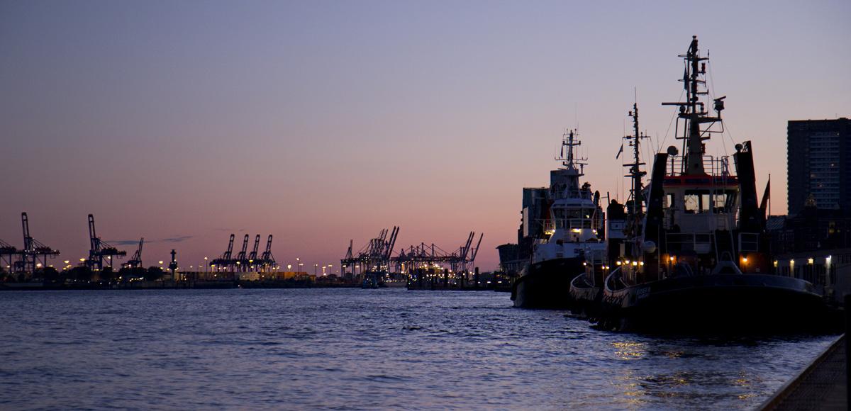 Zum Abend im Hafen…
