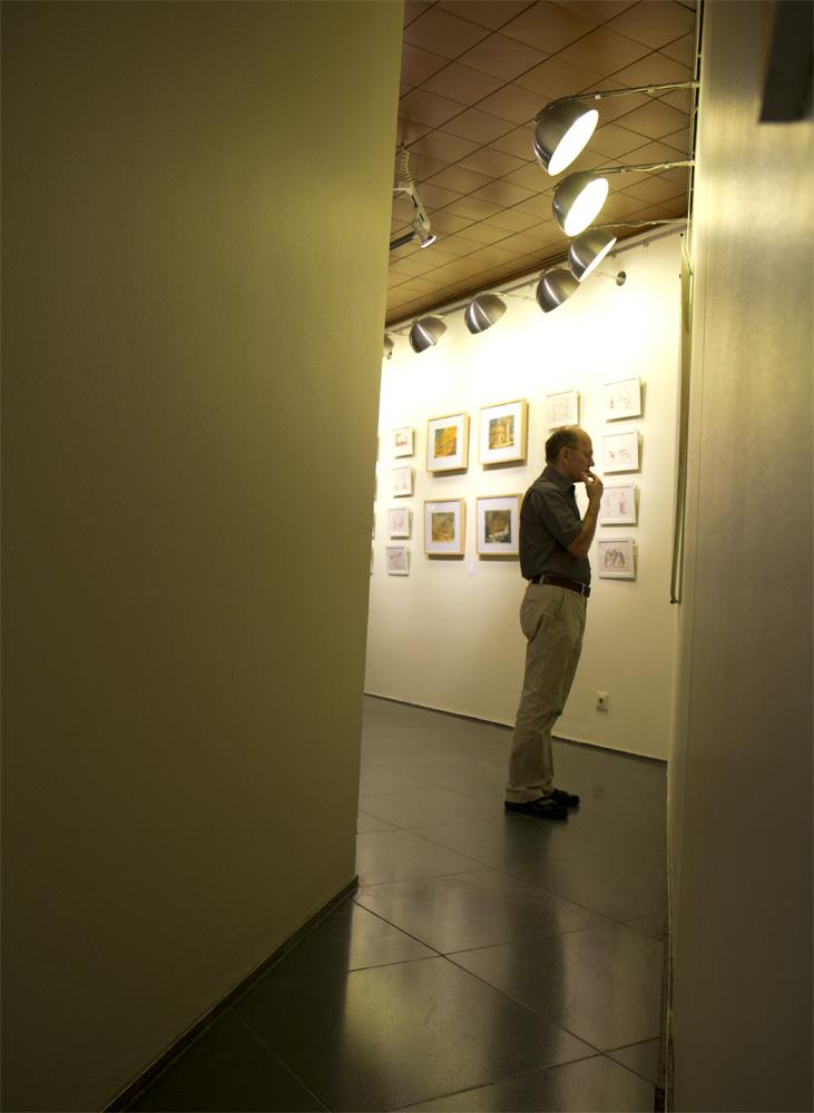 """Im Rathaus Mainz direkt rechts um die Ecke kommt man zur Ausstellung """"Making of Illustration // 2"""""""