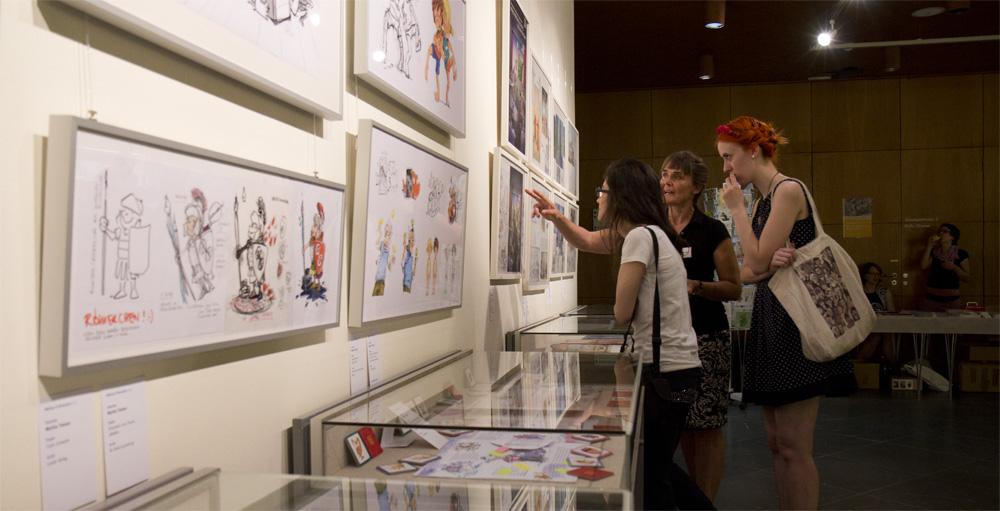 Die Illustratorin Maren Briswalter erklärt ihre Arbeit.