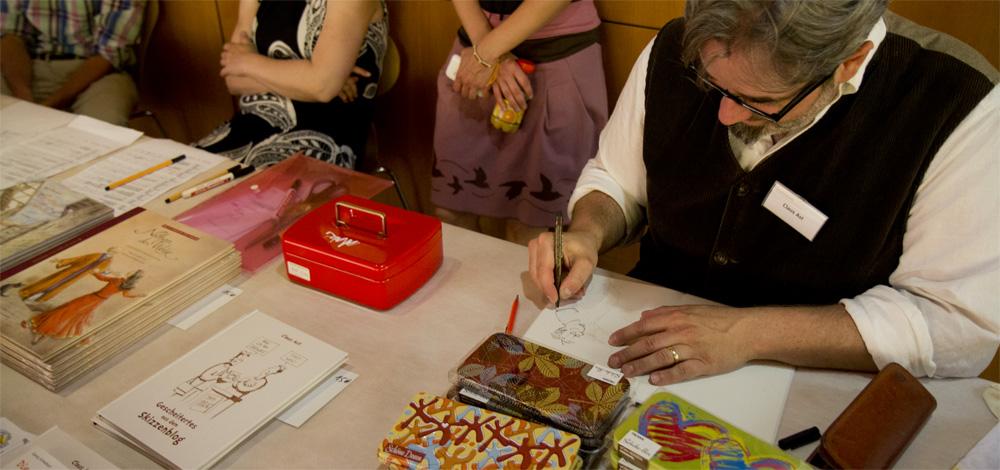 Ich bekomm mein Buch signiert von Claus Ast.