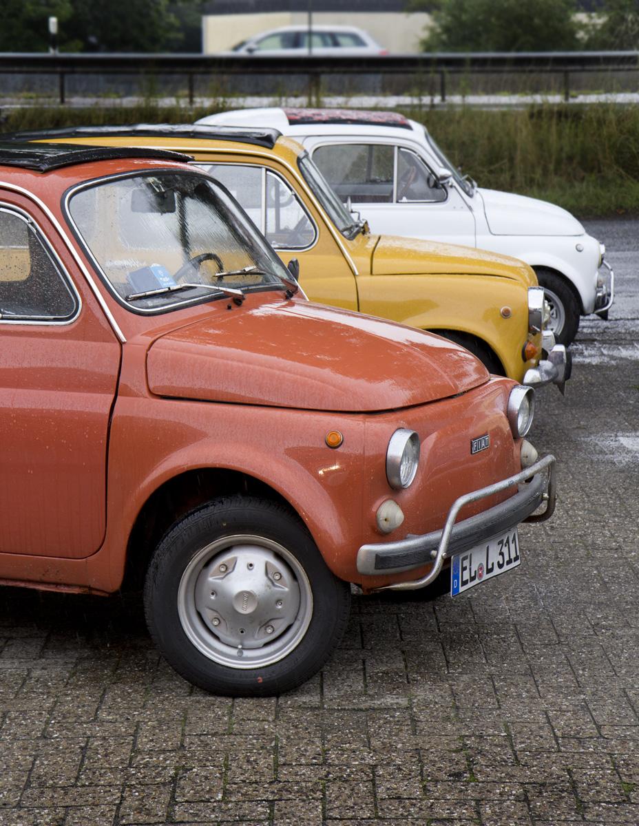 """Ein """"Minus 100"""" – ähm, also ein Fiat 500."""