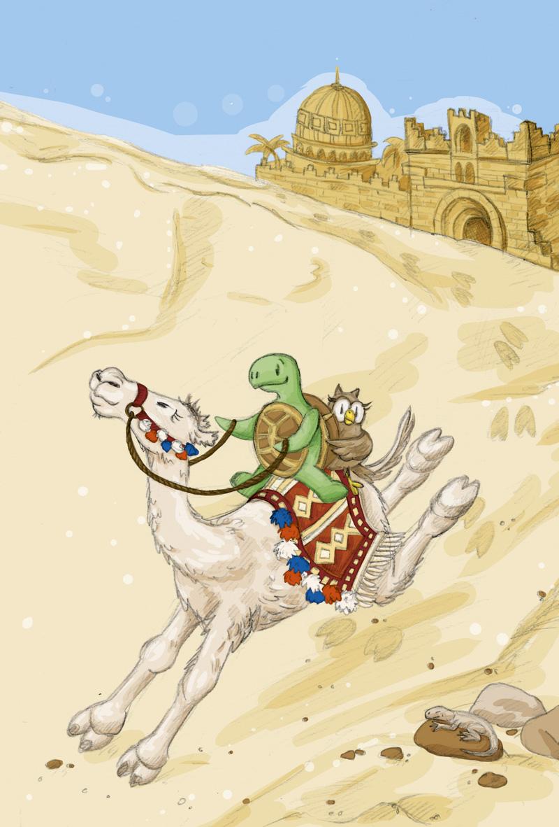 Schneller! Schneller! Immer schneller über den heißen Wüstensand!